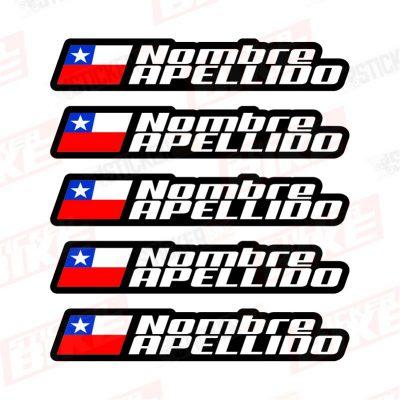 Bandera con Nombre Nic Básico 3