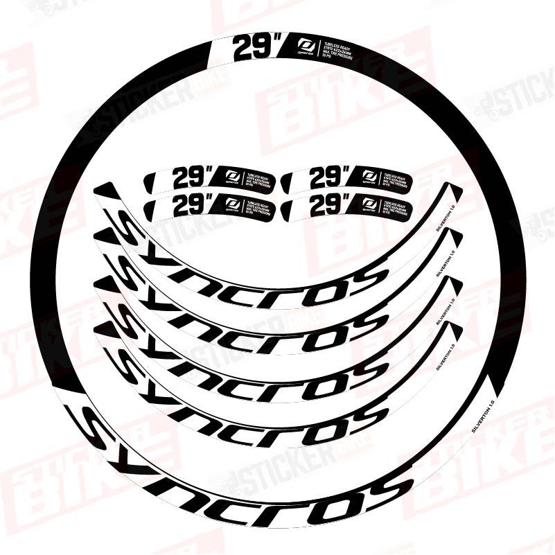 Sticker llantas Syncros Silverton 1.0 blanco