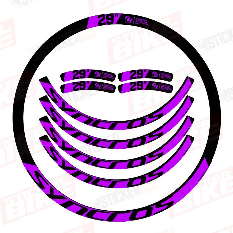 Sticker llantas Syncros Silverton 1.0 mora